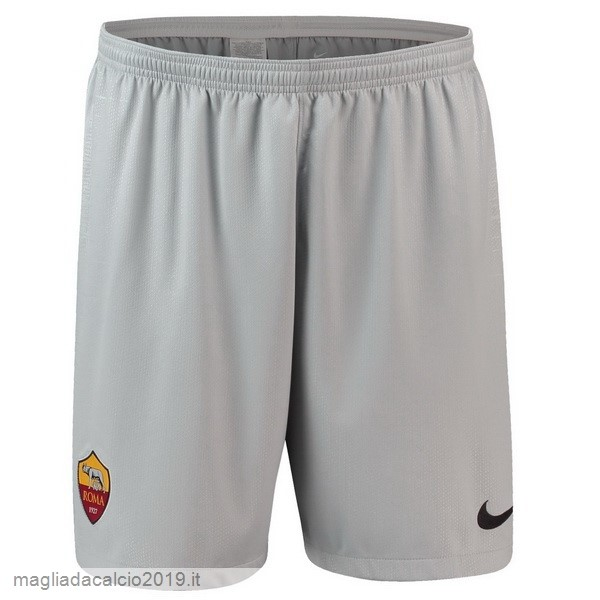 Kit Calcio Offerta Nike Away Pantaloncini As Roma 18-19 Grigio