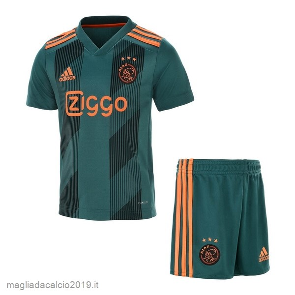 Kit Calcio Offerta Adidas Away Set Completo Bambino Ajax 2019 2020 Verde