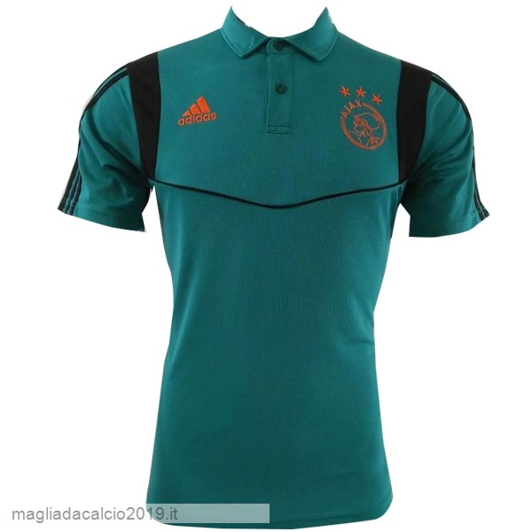 Kit Calcio Offerta Adidas Polo Ajax 2019 2020 Verde