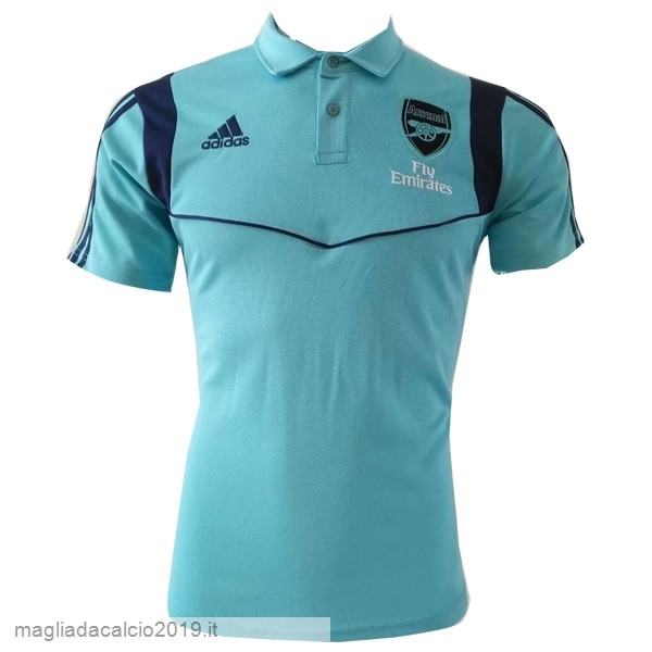 Kit Calcio Offerta Adidas Polo Arsenal 2019 2020 Blu Luce