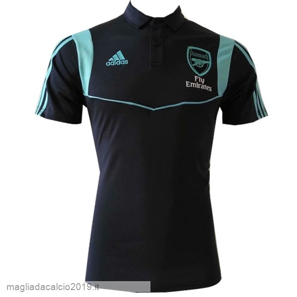 Kit Calcio Offerta Adidas Polo Arsenal 2019 2020 Nero Blu
