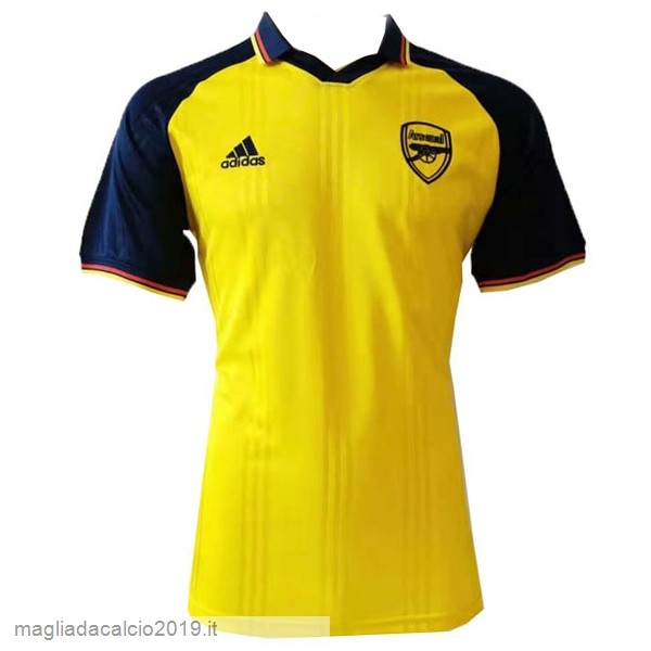 Kit Calcio Offerta adidas Polo Arsenal 2019 2020 Blu Giallo