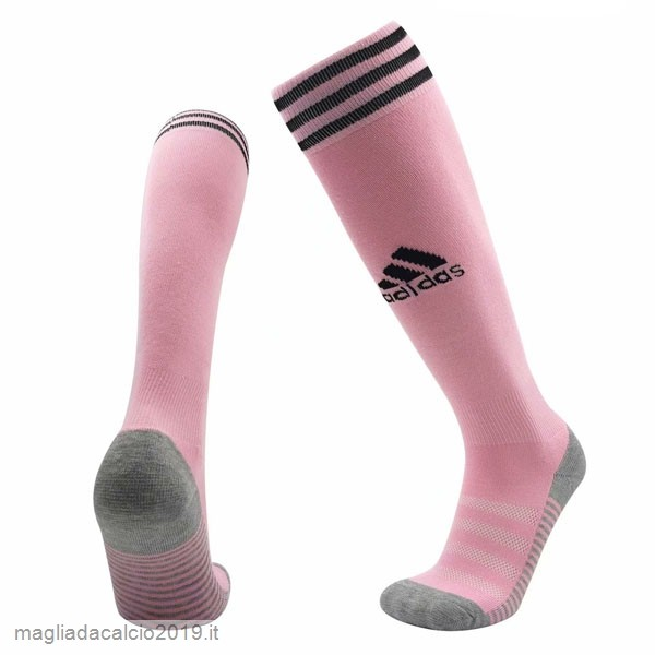 Kit Calcio Offerta adidas Away Calzettoni Leicester City 2019 2020 Rosa