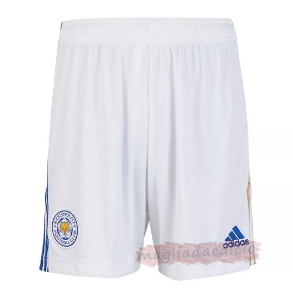 Kit Calcio Offerta adidas Away Pantaloni Leicester City 2020 2021 Bianco