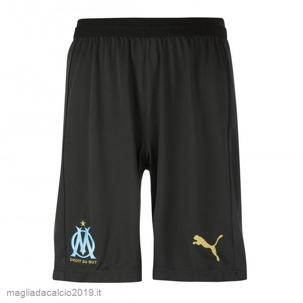 Kit Calcio Offerta PUMA Away Pantaloncini Marseille 18-19 Nero