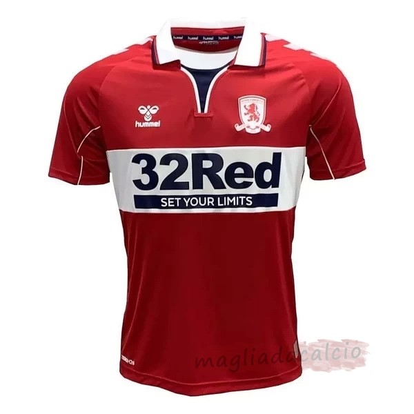 Kit Calcio Offerta hummel Home Maglia Middlesbrough 2020 2021 Rosso