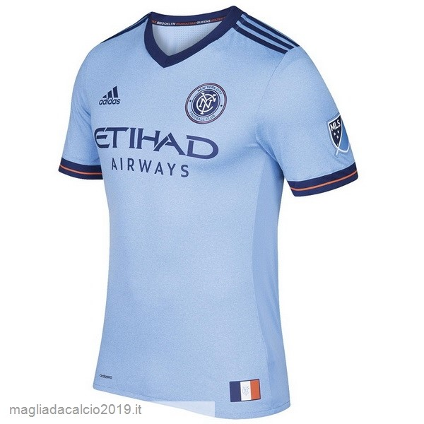 Kit Calcio Offerta adidas Home Maglia New York City 17-18 Blu