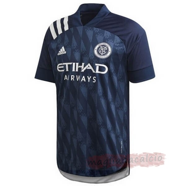 Kit Calcio Offerta adidas Away Maglia New York City 2020 2021 Blu