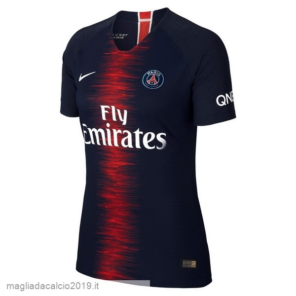 Kit Calcio Offerta Nike Home Maglia Donna Paris Saint Germain 18-19 Blu