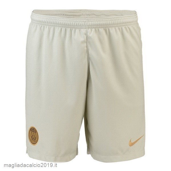 Kit Calcio Offerta Nike Away Pantaloncini Paris Saint Germain 18-19 Bianco