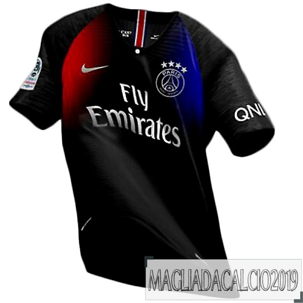 Kit Calcio Offerta Nike Thailandia Away Paris Saint Germain 19-20 Blu