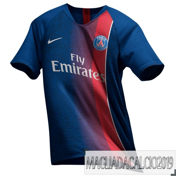 Kit Calcio Offerta Nike Thailandia Home Maglia Paris Saint Germain 19-20 Blu