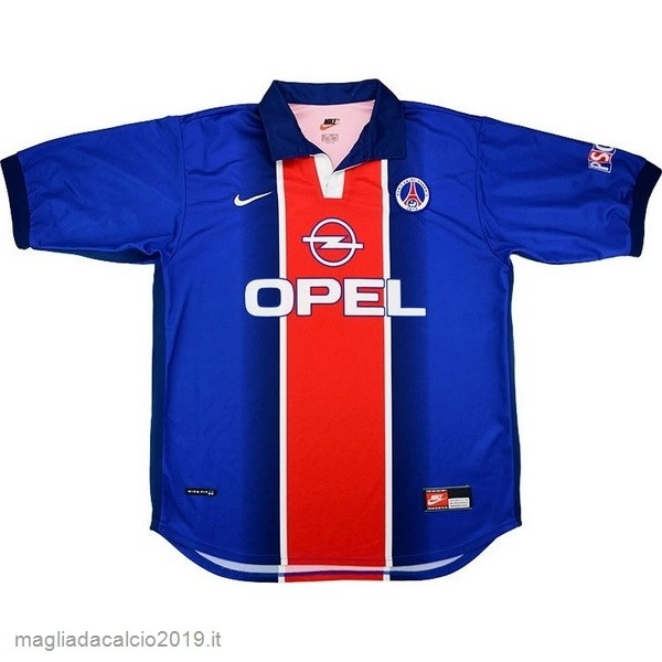 Kit Calcio Offerta Nike Home Maglia Paris Saint Germain Vintage 1998 1999 Blu