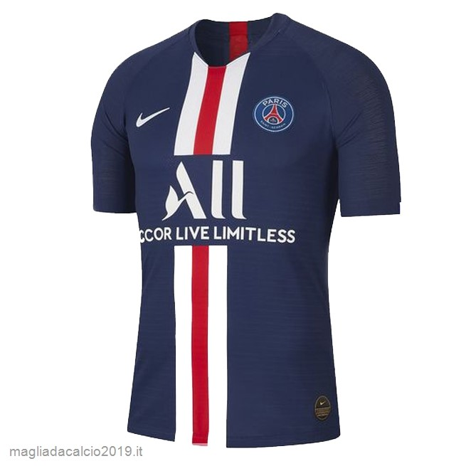 Kit Calcio Offerta Nike Thailandia Home Maglia Paris Saint Germain 2019 2020 Blu