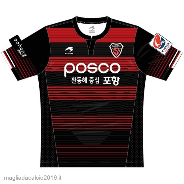 Kit Calcio Offerta Astore Home Maglia Pohang Steelers 17-18 Rosso