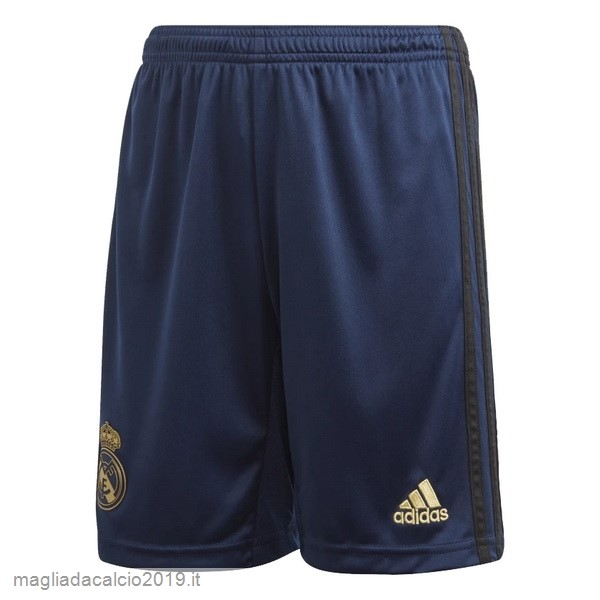 Kit Calcio Offerta Adidas Away Pantaloni Real Madrid 2019 2020 Blu Navy