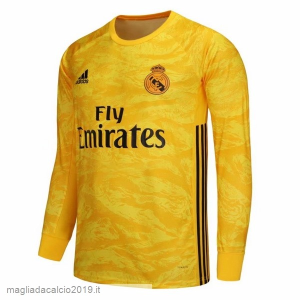 Kit Calcio Offerta Adidas Home Manica lunga Portiere Real Madrid 2019 2020 Amarillo