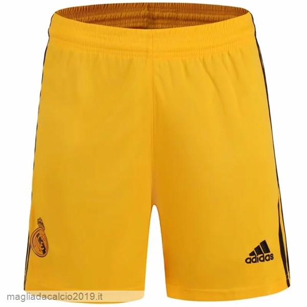 Kit Calcio Offerta Adidas Home Portiere Pantaloni Real Madrid 2019 2020 Amarillo