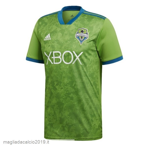 Kit Calcio Offerta adidas Home Maglia Seattle Sounders 18-19 Verde