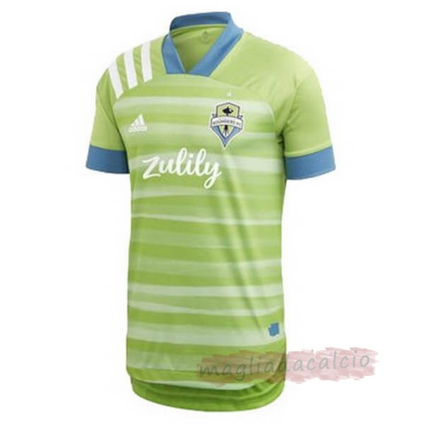 Kit Calcio Offerta adidas Home Maglia Seattle Sounders 2020 2021 Verde