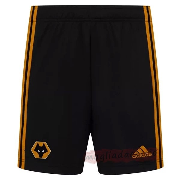 Kit Calcio Offerta adidas Home Pantaloni Wolves 2020 2021 Nero